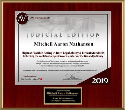 AV Rated Mitchell A. Nathanson